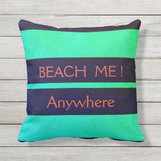 """Almofada Para Ambientes Externos """"Pillows_TEMPLATE__BEACH náutico MIM! _MED-Pillow"""