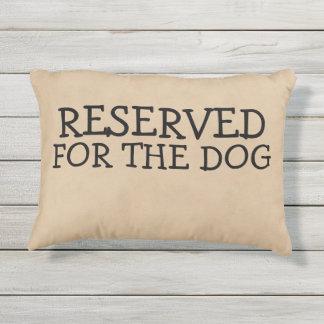 Almofada Para Ambientes Externos Reservado para a novidade do cão