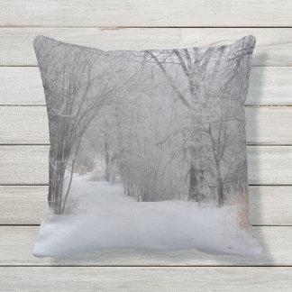 Almofada Para Ambientes Externos Solidão do inverno