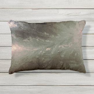 Almofada Para Ambientes Externos Teste padrão de Frost de janela no travesseiro