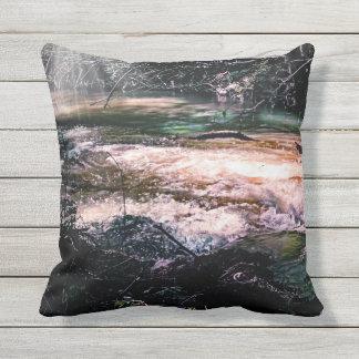 Almofada Para Ambientes Externos Travesseiro decorativo exterior, angra de fluxo