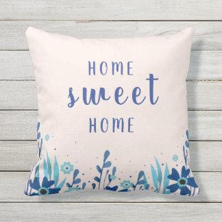 Almofada Para Ambientes Externos Travesseiro decorativo exterior da aguarela Home