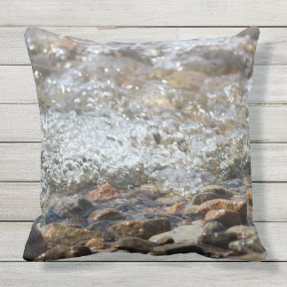 """Almofada Para Ambientes Externos Travesseiro decorativo exterior do """"ribeiro"""