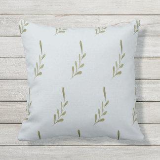 Almofada Para Ambientes Externos Travesseiro decorativo exterior floral azul