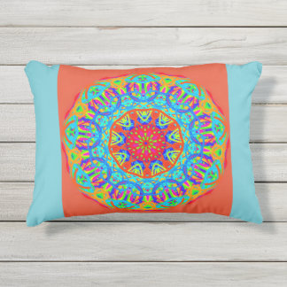 Almofada Para Ambientes Externos Travesseiro do acento da celebração de turquesa