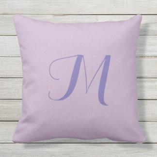 Almofada Para Ambientes Externos Travesseiro exterior do monograma 20x20 de