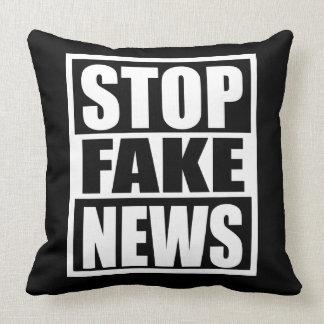 Almofada Pare a notícia falsificada