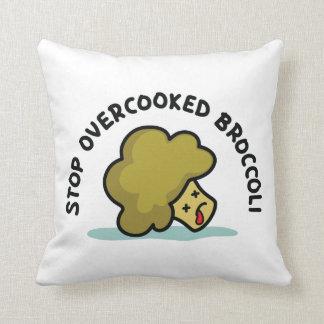 Almofada Pare brócolos Overcooked