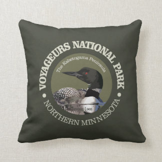 Almofada Parque nacional de Voyageurs (mergulhão-do-norte)