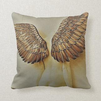 Almofada Parte traseira do anjo e coxim bonitos das asas