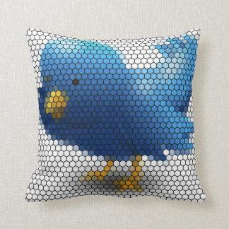 Almofada Pássaro pequeno do Twitter