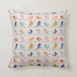 Almofada Pássaros do canto travesseiro
