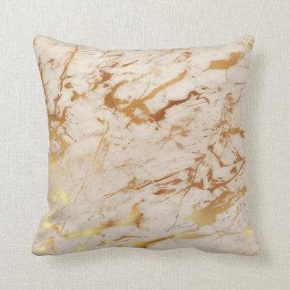 Almofada Pastel luxuoso do mármore cremoso fresco abstrato