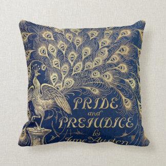 Almofada Pavão 1894 do orgulho e do preconceito de Jane
