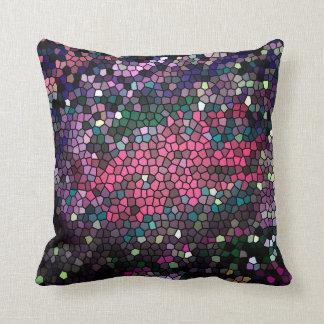 Almofada Pele 2 do dragão do mosaico - travesseiro