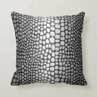 Almofada Pele de cobra do travesseiro decorativo do algodão