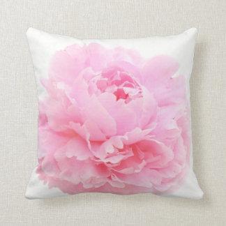 Almofada peônia cor-de-rosa