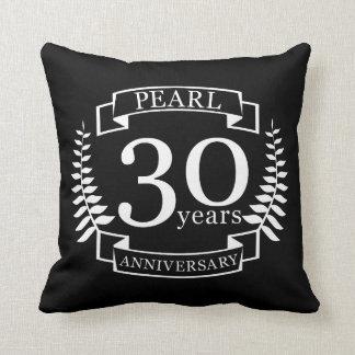 Almofada Perolize o 30o aniversário de casamento 30 anos