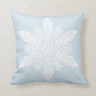Almofada Personalize este travesseiro do floco de neve