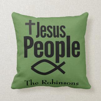 Almofada Pessoas do travesseiro decorativo do cristão de