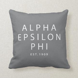 Almofada Phi alfa | Est do épsilon. 1909