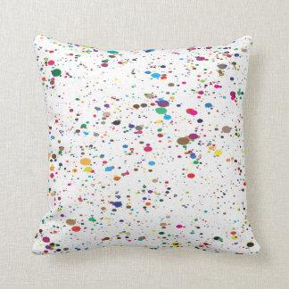 Almofada Pinte o travesseiro do Splatter