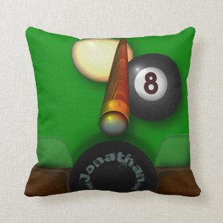 Almofada Piscina e bilhar de oito bolas