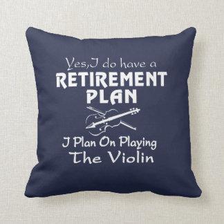Almofada Plano em jogar o violino
