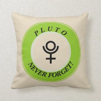 Almofada Pluto, nunca esquece