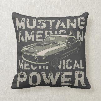 Almofada Poder mecânico do mustang