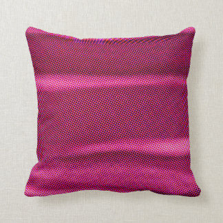 Almofada ponto de intervalo mínimo cor-de-rosa roxo