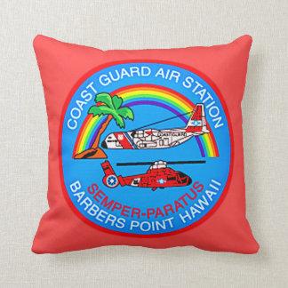 Almofada Ponto Havaí dos barbeiros da estação aérea da