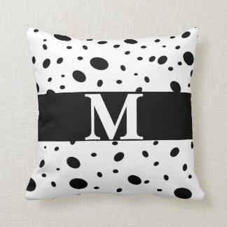 Almofada pontos chiques modernos do travesseiro feito sob