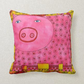 Almofada Porco modelado