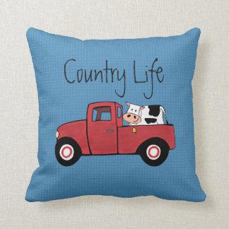 """Almofada Pouco travesseiro decorativo vermelho 16"""" da vaca"""
