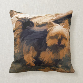 Almofada Pouco Yorkie   - cão do yorkshire terrier
