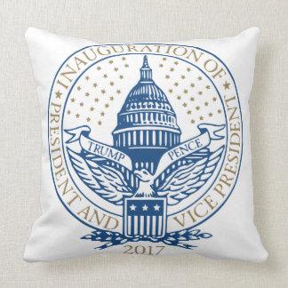 Almofada Presidente Inaugural Logotipo Inauguração das