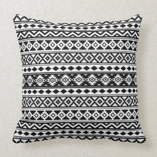 Almofada Preto & branco astecas de IIb do teste padrão da