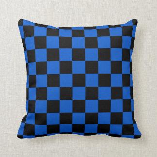 Almofada Preto e azul - clube italiano do futebol - inter