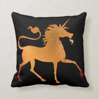 Almofada Princesa Preto Coral Ouro Mínimo do cavalo do
