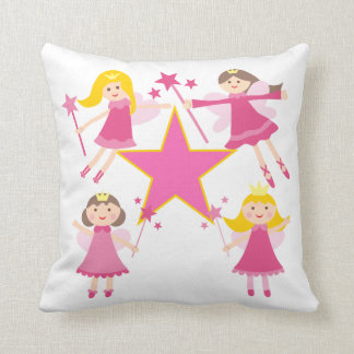 Almofada Princesas feericamente cor-de-rosa Descansar