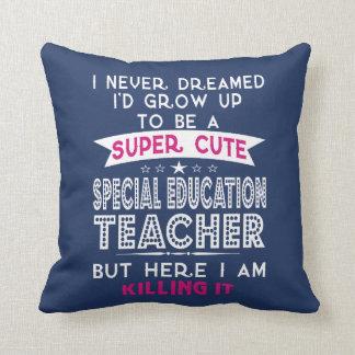 Almofada Professor bonito super do ensino especial