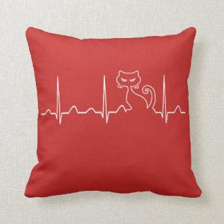 Almofada Pulsação do coração do gato