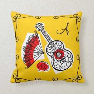 Almofada Quadrado espanhol do travesseiro dos cantos do