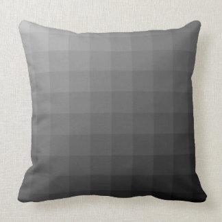 Almofada Quadrados matizados preto
