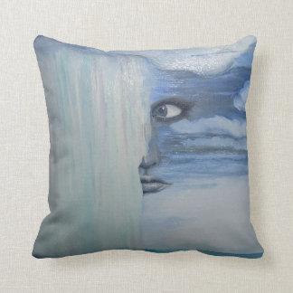 Almofada Que azul sente como