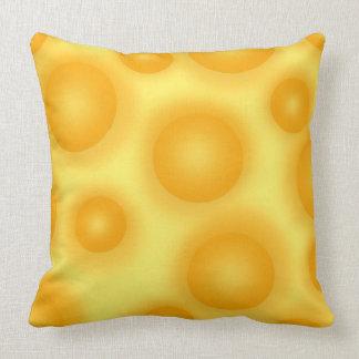 Almofada Queijo suíço amarelo