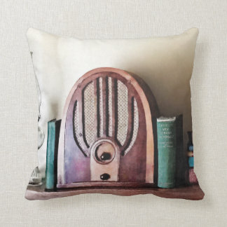 Almofada Rádio dos anos 30 do vintage