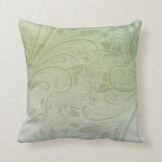 Almofada Redemoinho floral verde