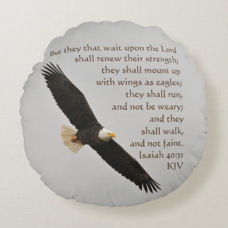 Almofada Redonda 40:31 mas eles de Isaiah essa espera em cima do